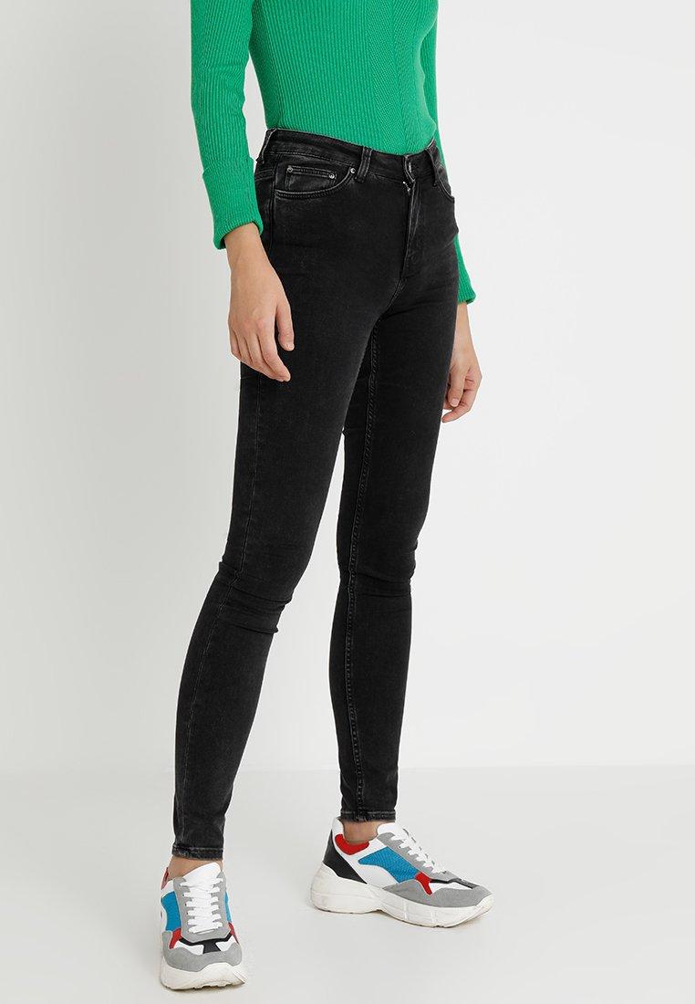 Weekday - BODY  - Jeans Skinny - black