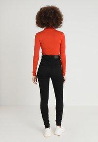 Weekday - BODY HIGH - Jeans Skinny Fit - black - 2