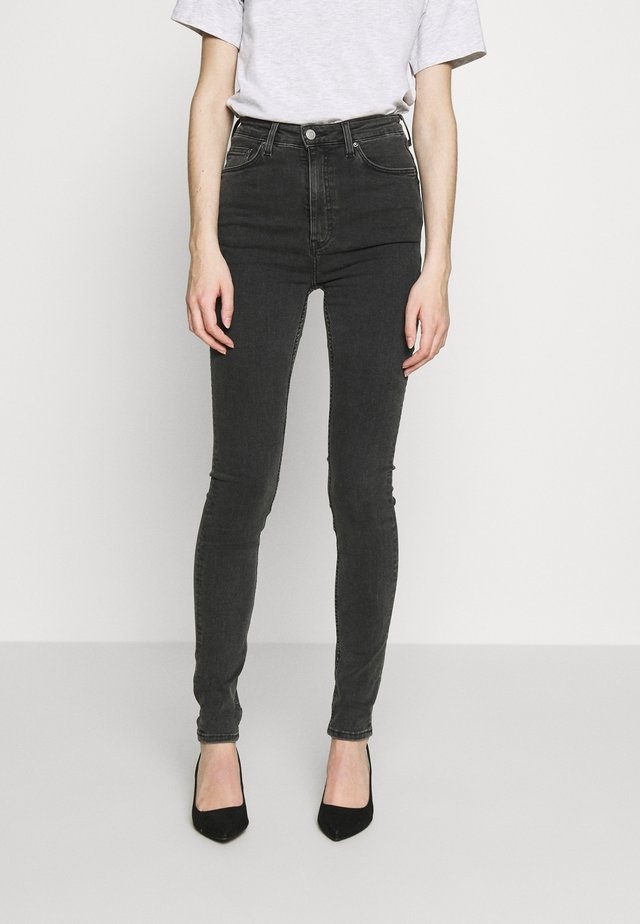 BODY HIGH - Jeans Skinny Fit - black dark