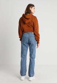Weekday - VOYAGE - Straight leg jeans - blue denim - 2