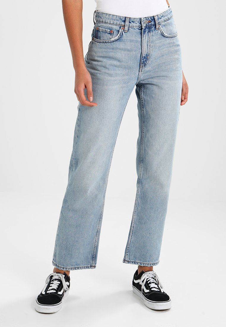 Weekday - VOYAGE - Straight leg jeans - spring blue