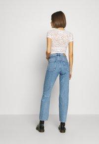Weekday - VOYAGE STANDARD - Jeans Straight Leg - pen blue - 2