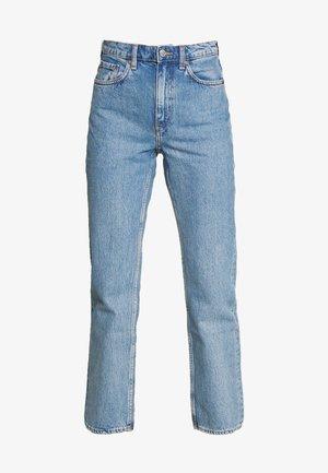 VOYAGE STANDARD - Straight leg jeans - pen blue