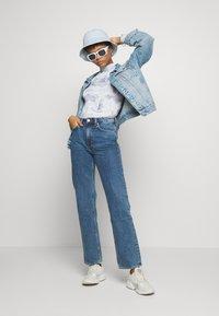 Weekday - VOYAGE STANDARD - Jeans straight leg - black - 1