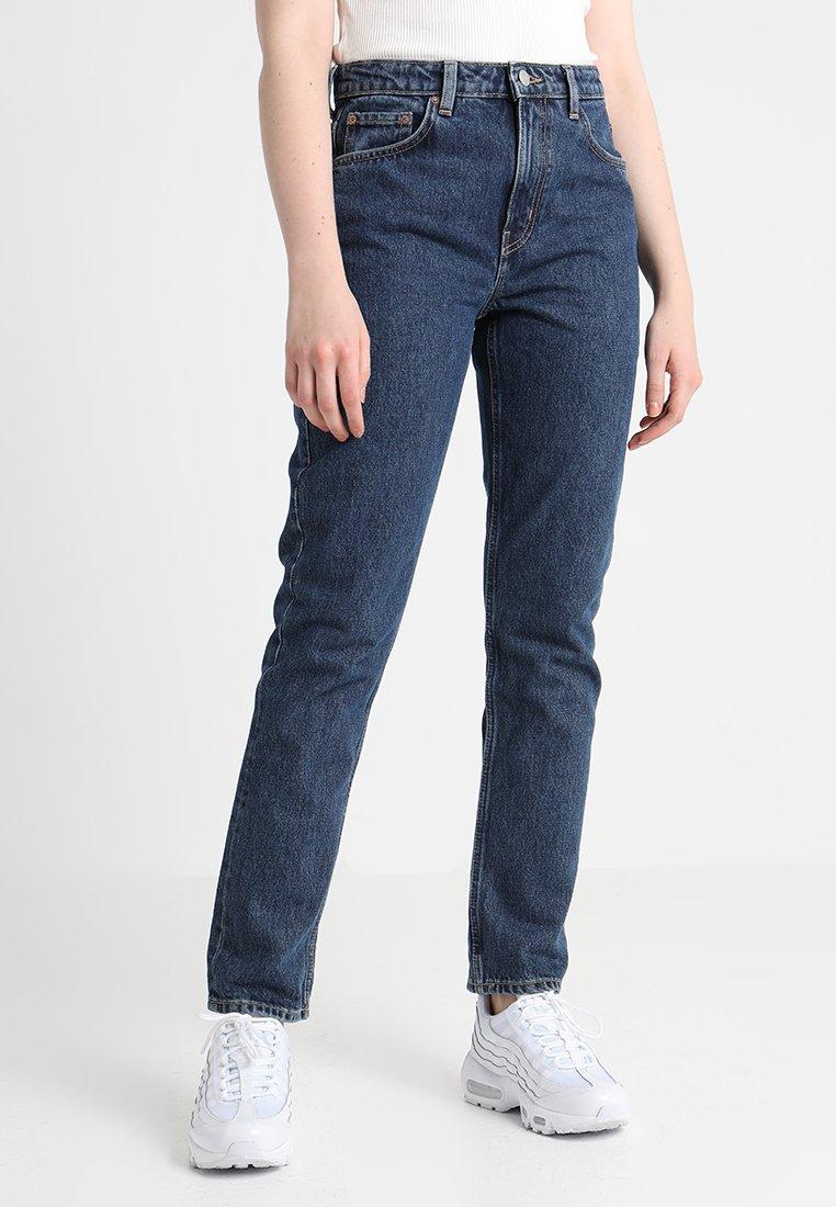 Weekday - SEATTLE  - Straight leg jeans - win blue