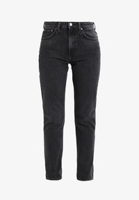 Weekday - SEATTLE  - Jeansy Straight Leg - trotter black - 4