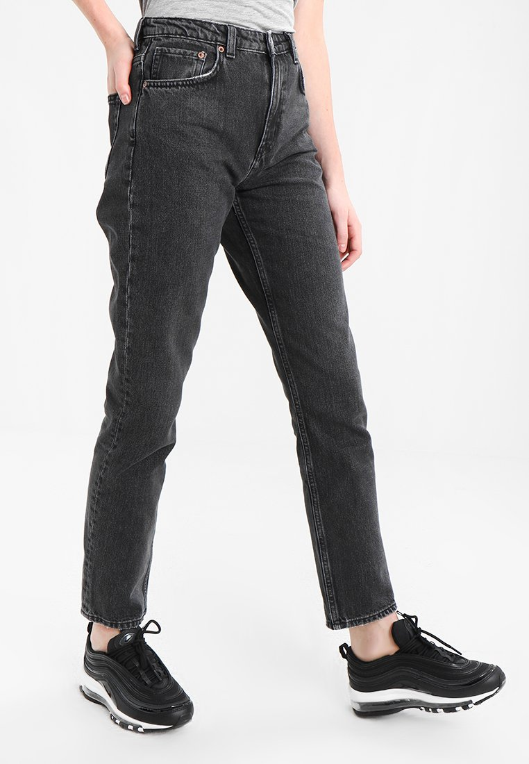Weekday - SEATTLE  - Jeansy Straight Leg - trotter black
