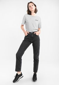 Weekday - SEATTLE  - Jeansy Straight Leg - trotter black - 1