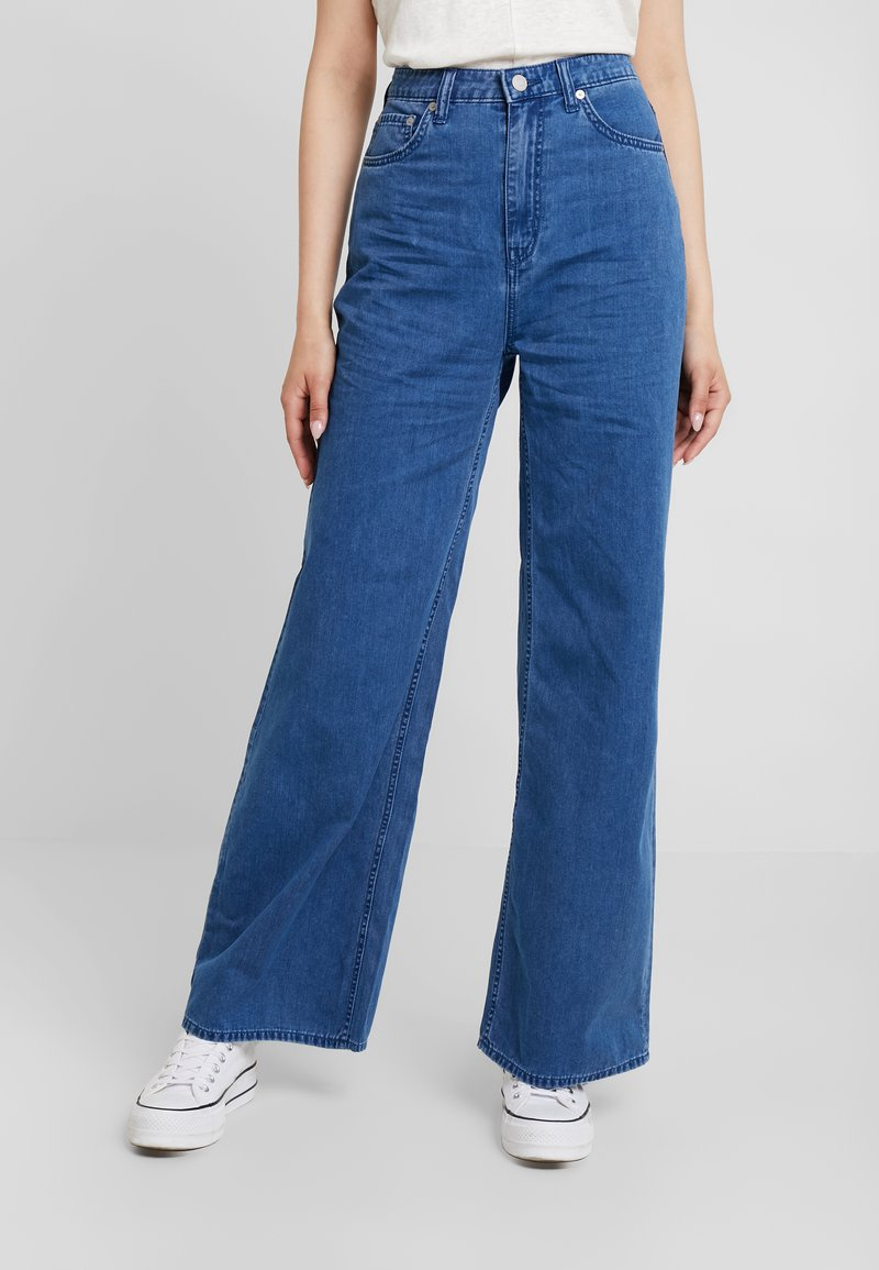Weekday - ACE - Bootcut jeans - porto blue