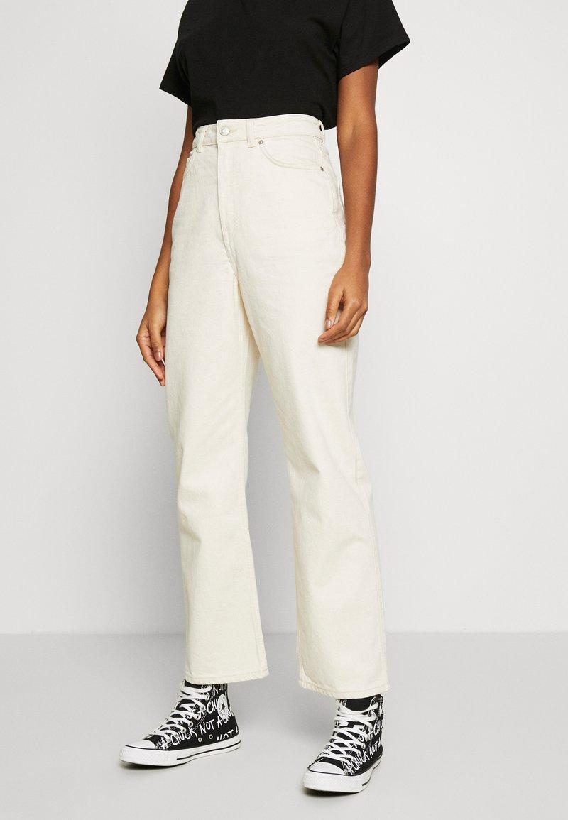 Weekday - ROWE - Jeans relaxed fit - ecru beige dusty light