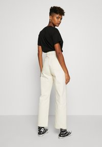 Weekday - ROWE - Jeans relaxed fit - ecru beige dusty light - 2