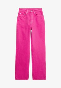 Weekday - ROWE - Jeans Relaxed Fit - cerise pink - 0