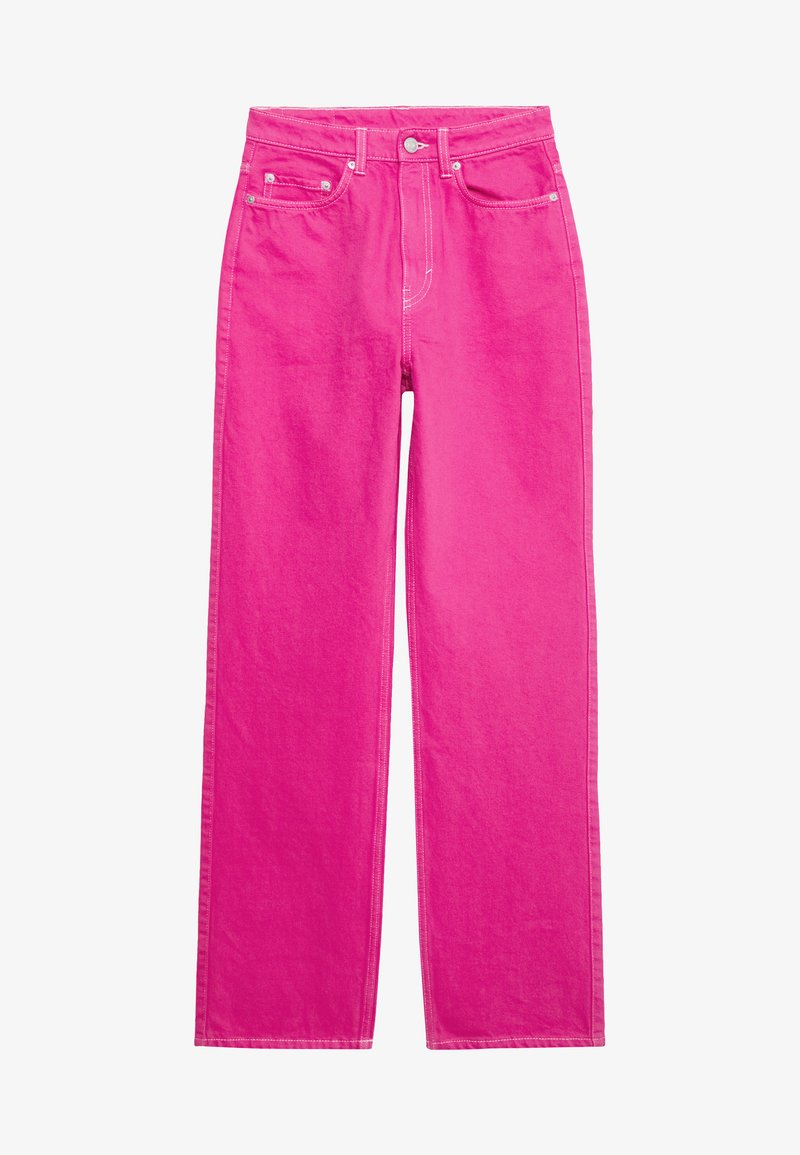 Weekday - ROWE - Jeans Relaxed Fit - cerise pink