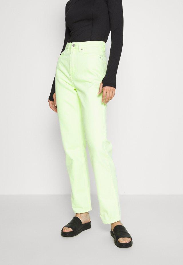 ROWE FRESH - Straight leg -farkut - freaky green