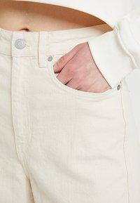 Weekday - VEER - Flared jeans - ecru - 3