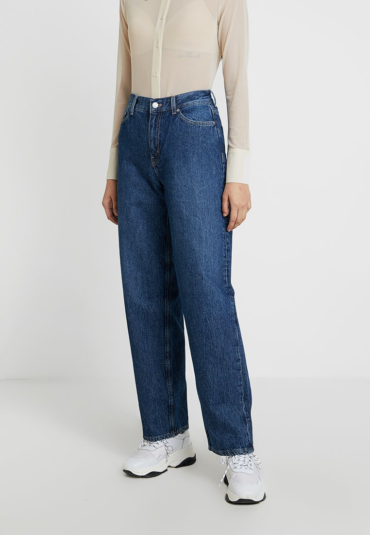 Weekday - RAIL - Relaxed fit jeans - laver blue