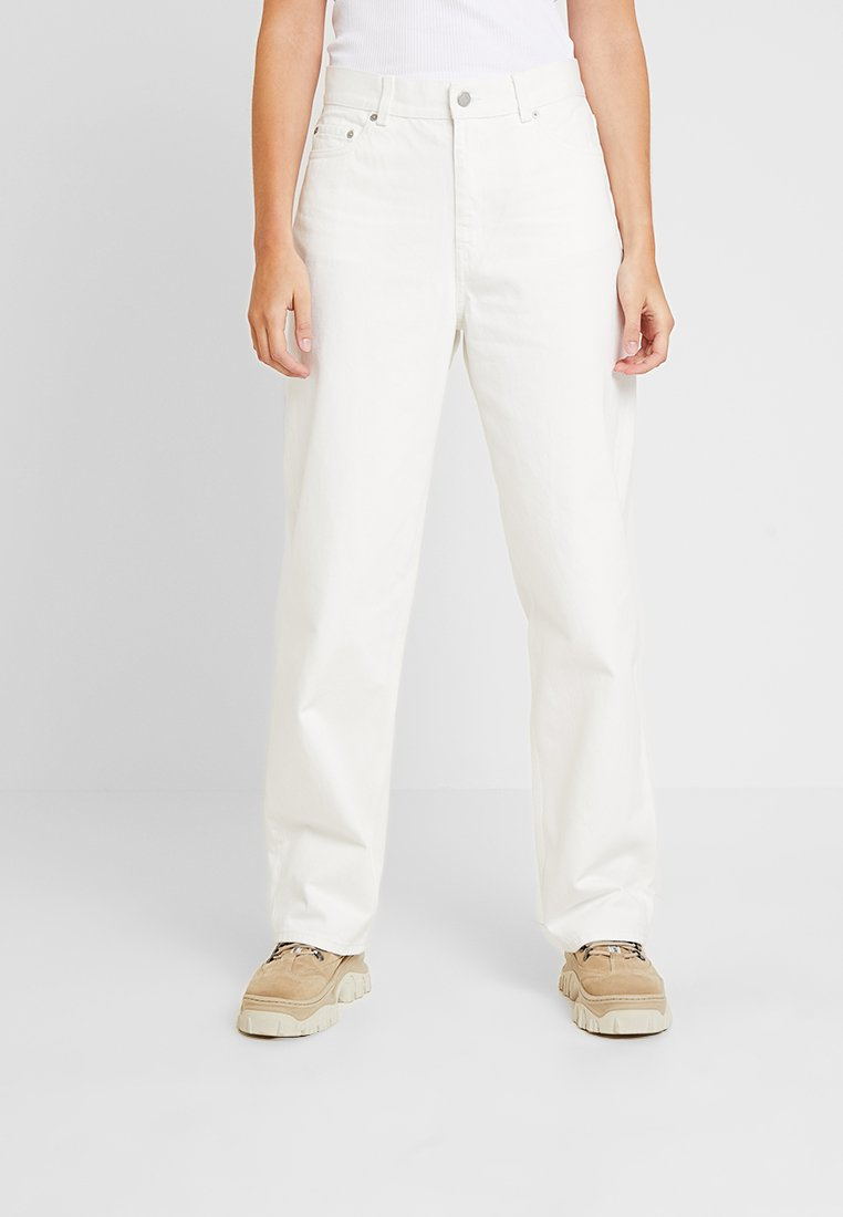 Weekday - RAIL - Jeans Relaxed Fit - white