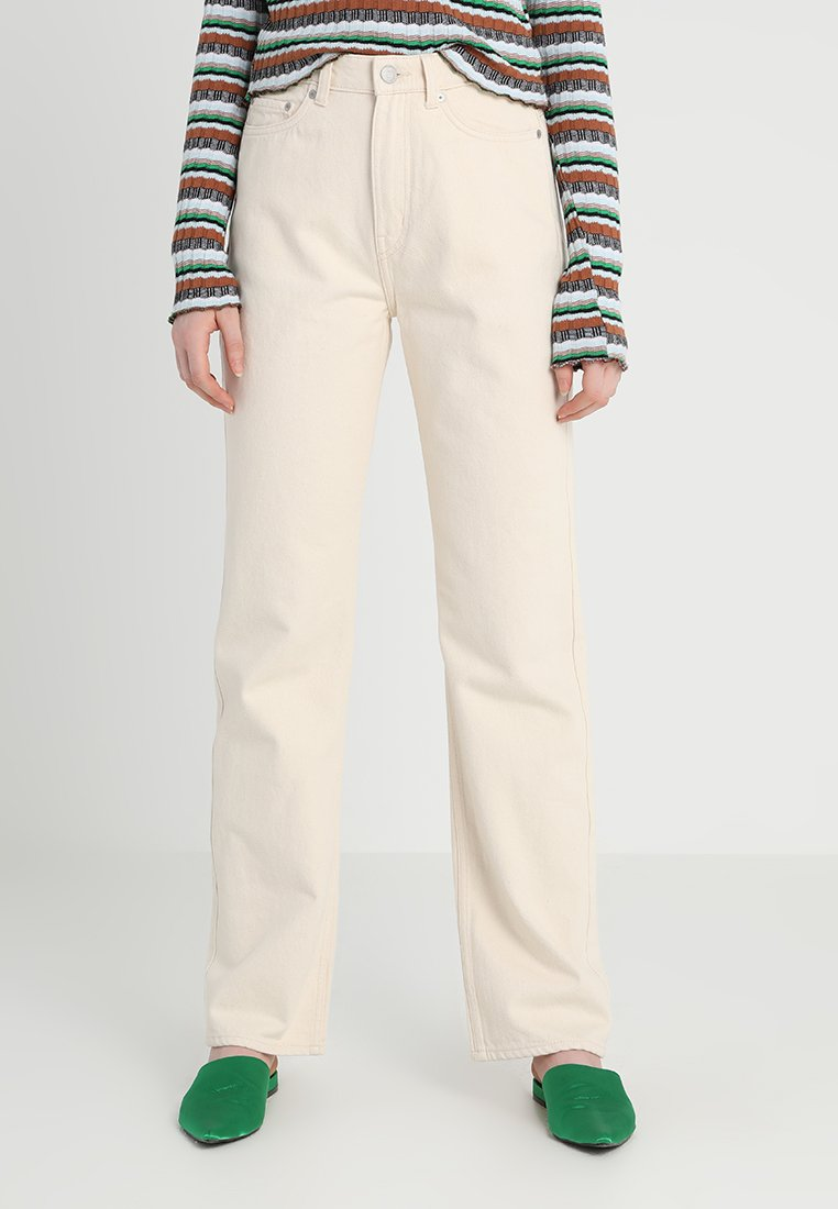 Weekday - ROW - Jeans Straight Leg - ecru