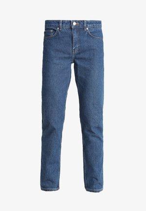 BON - Jeansy Straight Leg - base blue