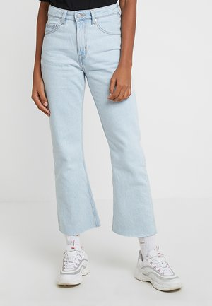 MILE CROPPED - Flared jeans - sing blue