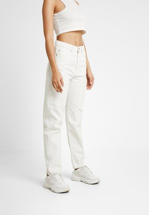 100% RECYCLED COLLECTION LASH - Jeans relaxed fit - marfil off white