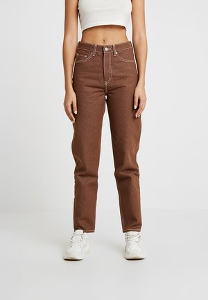 100% RECYCLED COLLECTION LASH - Jeansy Relaxed Fit - maroon