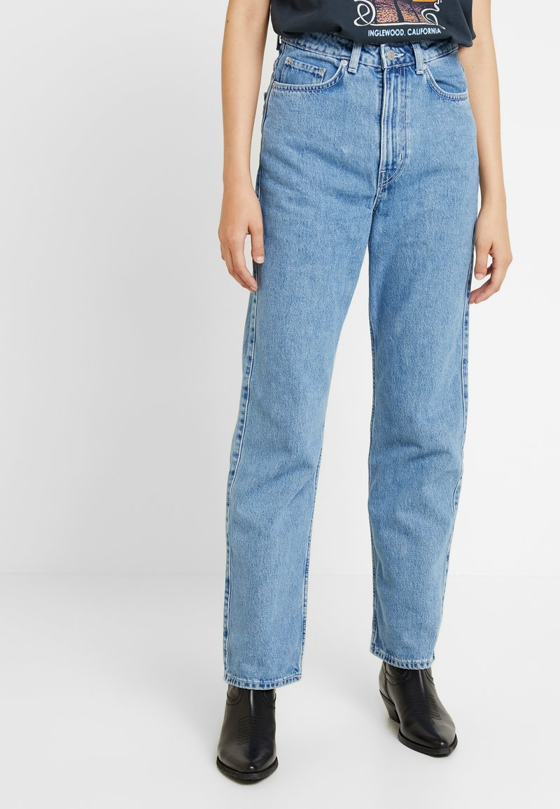 Weekday - ROW SKY - Relaxed fit jeans - sky blue