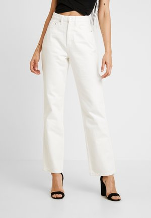 ROW - Jeansy Straight Leg - white
