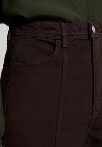 Weekday - ALABAMA TROUSER - Jeans straight leg - dark brown - 3