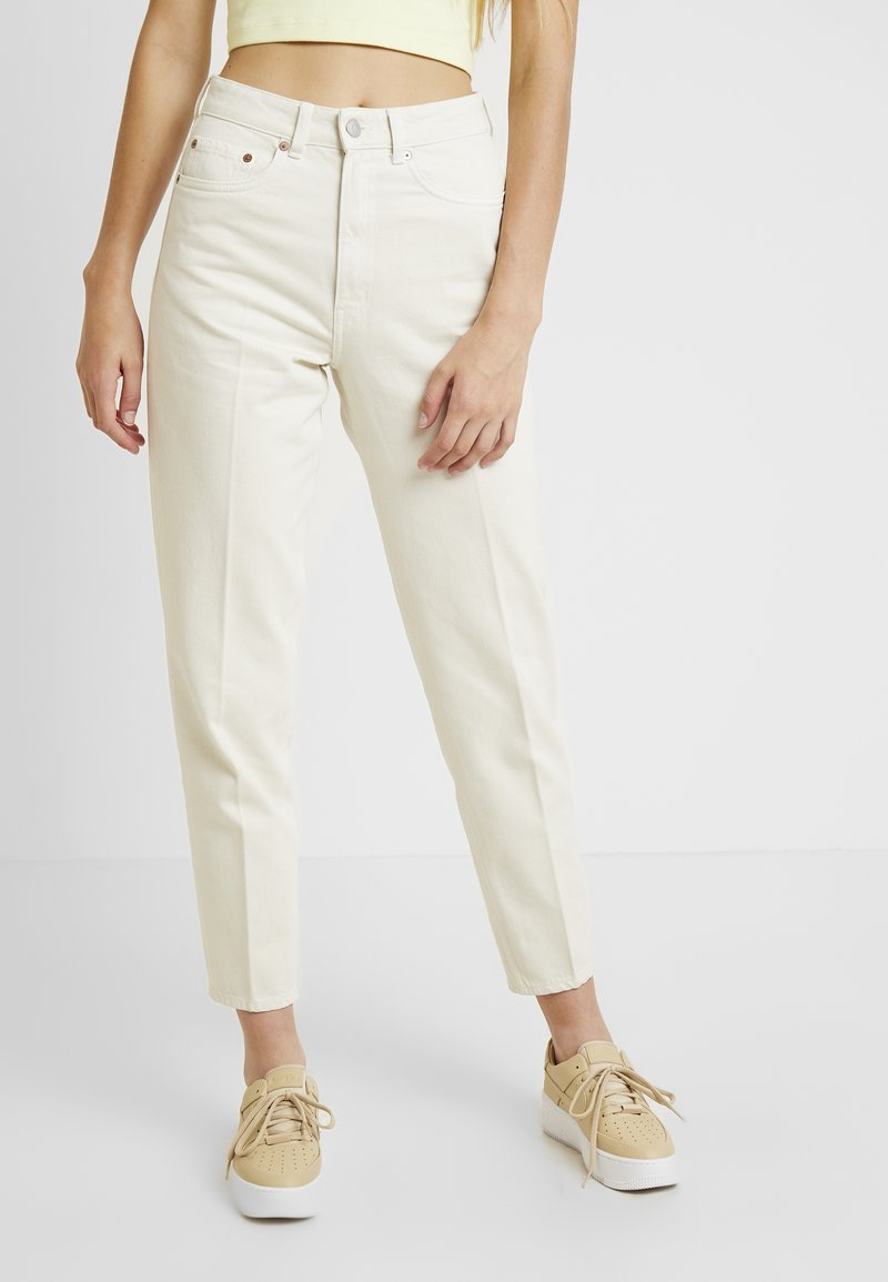 Weekday - LASH - Relaxed fit jeans - tinted ecru