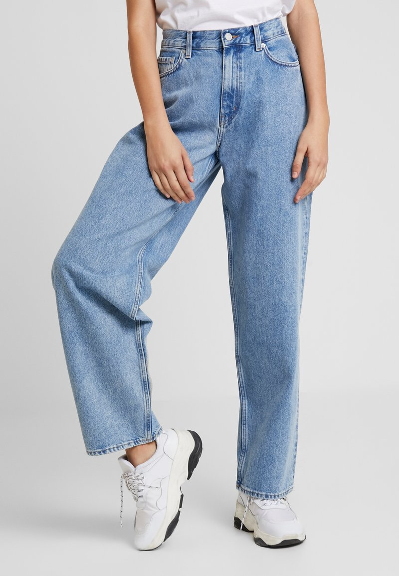 Weekday - RAIL PEN  - Jeans relaxed fit - pen blue