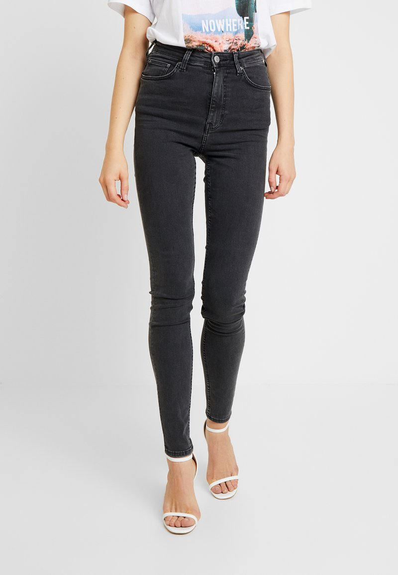 Weekday - BODY HIGH - Jeans Skinny Fit - perfect black