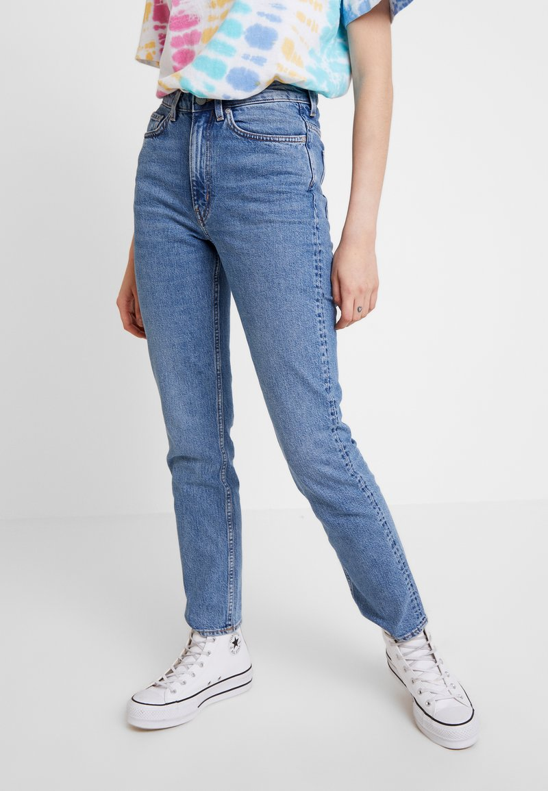 Weekday - CASE - Straight leg jeans - marble blue