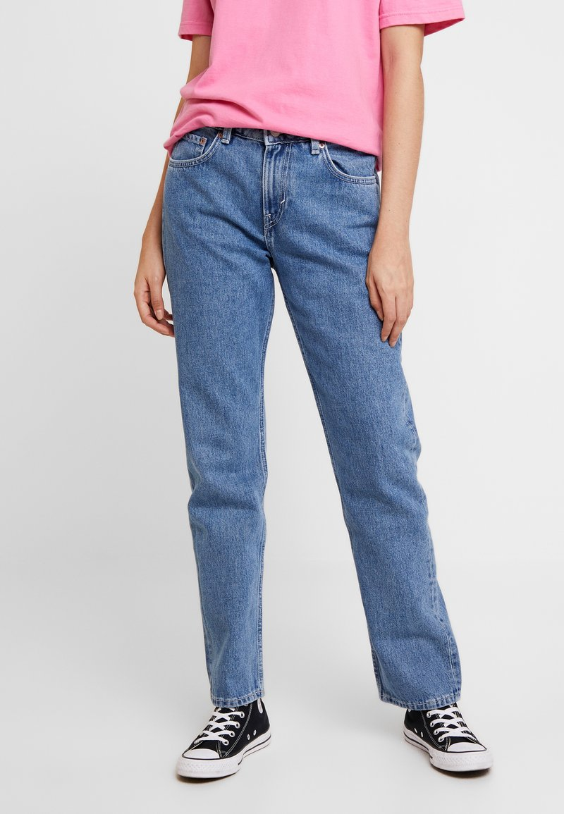 Weekday - DASH - Jeans straight leg - sky blue