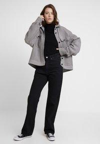 Weekday - ROWE - Jeans straight leg - echo black - 1