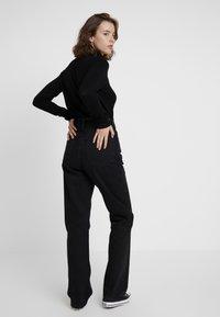 Weekday - ROWE - Jeans straight leg - echo black - 2