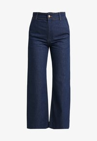 Weekday - CORY TROUSER PRESSED - Jeans a zampa - soaked - 4