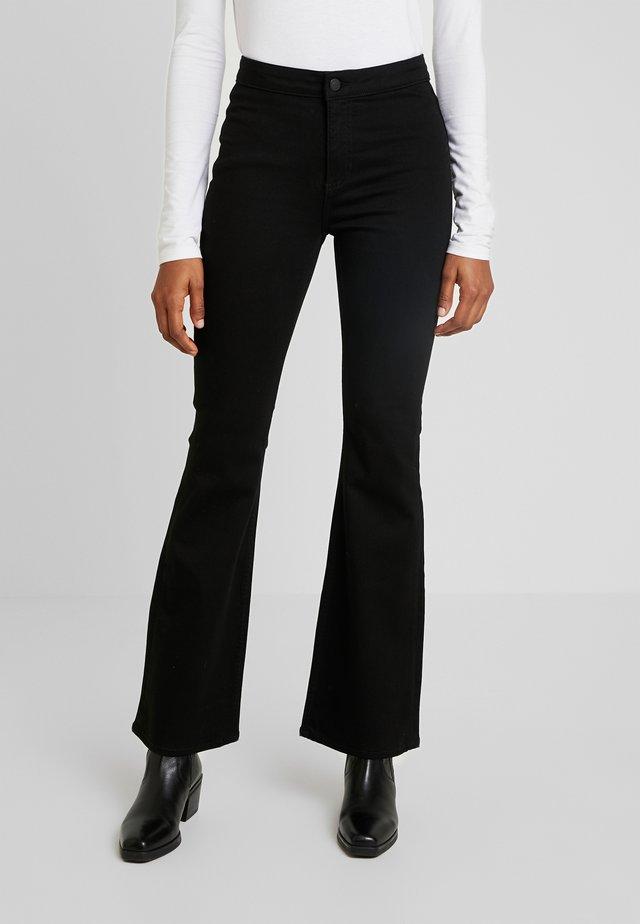 JAZZ STAY - Jeans straight leg - black