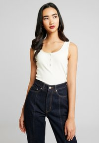 Weekday - ROW SPLIT - Flared jeans - rinse - 3