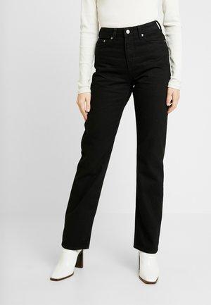 VOYAGE - Jeans straight leg - black
