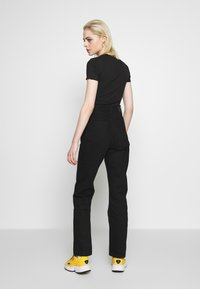 Weekday - ROW STAY - Straight leg jeans - black - 2