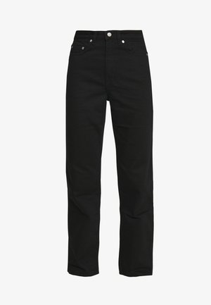 ROW STAY - Džíny Straight Fit - black