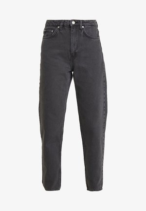LASH EXTRA HIGH MOM ECHO - Jeans Tapered Fit - dark grey