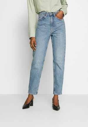 LASH EXTRA HIGH MOM ECHO - Jeans fuselé - seven blue
