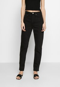 Weekday - MIKA TUNED - Relaxed fit jeans - tuned black - 0