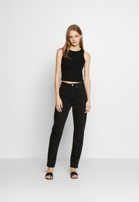 Weekday - MIKA TUNED - Relaxed fit jeans - tuned black - 1