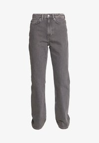 Weekday - ROWE EXTRA HIGH - Jeans straight leg - dark grey - 3