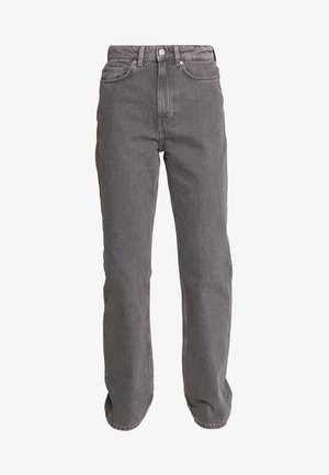 ROWE EXTRA HIGH - Džíny Straight Fit - dark grey