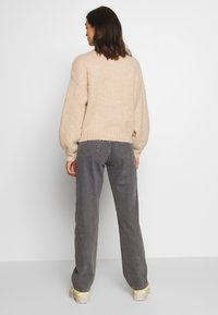 Weekday - ROWE EXTRA HIGH - Jeans straight leg - dark grey - 0