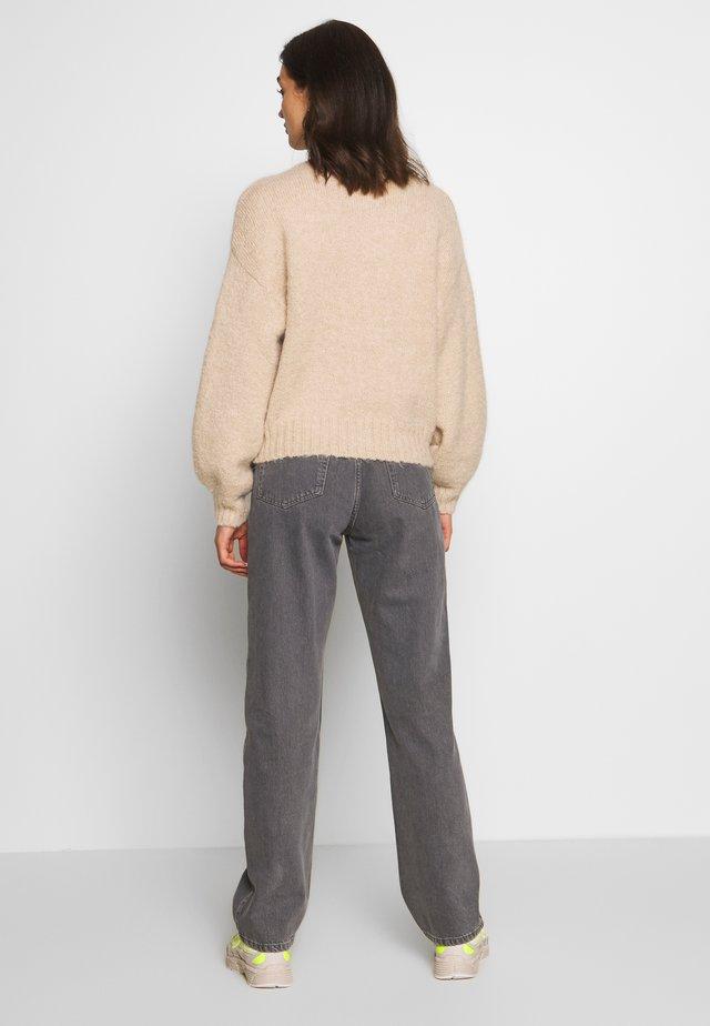 ROWE EXTRA HIGH - Straight leg -farkut - dark grey